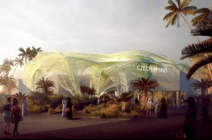 Vizualizace českého pavilonu v Dubaji, zdroj: ČzechTourism