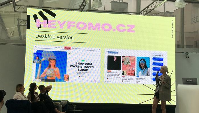 Náhled podoby nového webu pro mladé od CNC, zdroj: MediaGuru.cz
