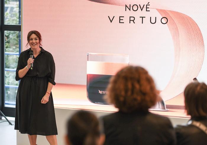 Andrea Petrová, Marketingová ředitelka Nespressa. Zdroj: Nespresso