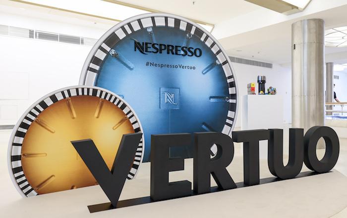 Nová řada Nespresso Vertuo. Zdroj: Nespresso