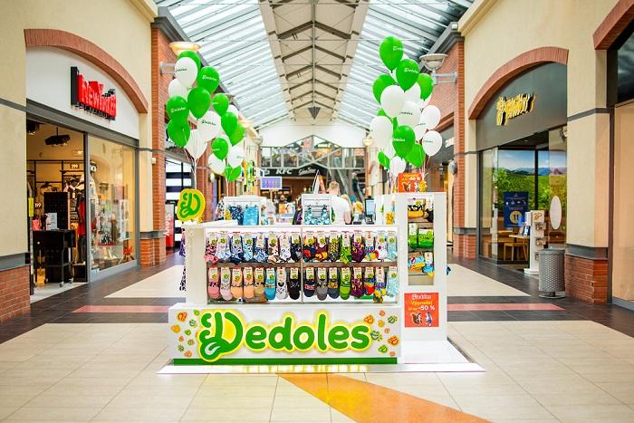 Dedoles aktuálně provozuje 8 kiosků v nákupních centrech, zdroj: Dedoles