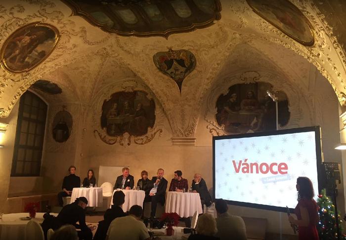 Tisková konference ČT Vánoce 2017, foto: MediaGuru.cz
