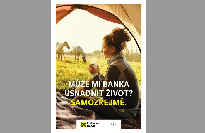 Nový komunikační vizuál Raiffeisenbank, zdroj: Raiffeisenbank