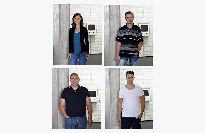 Erika Hyblerová, Martin Procházka, Petr Voříšek a Zbyšek Rusnák, zdroj: Knowlimits