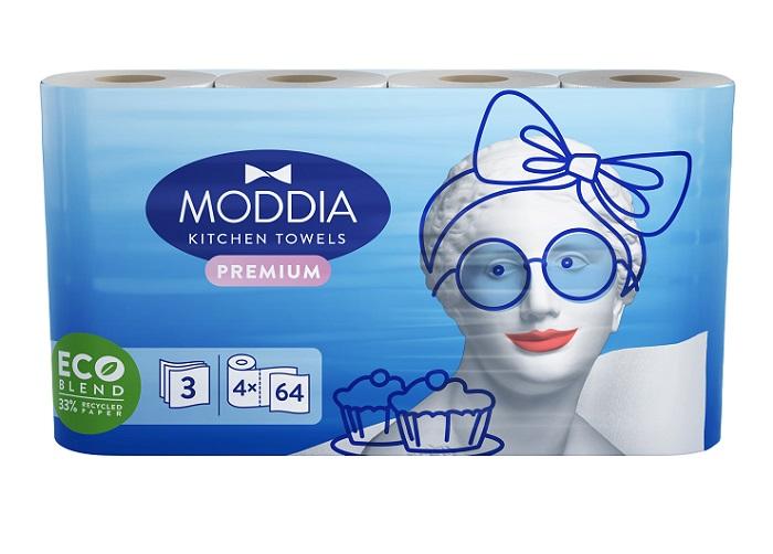 Pod značkou Moddia jsou hygienické potřeby, zdroj: Rohlík.cz