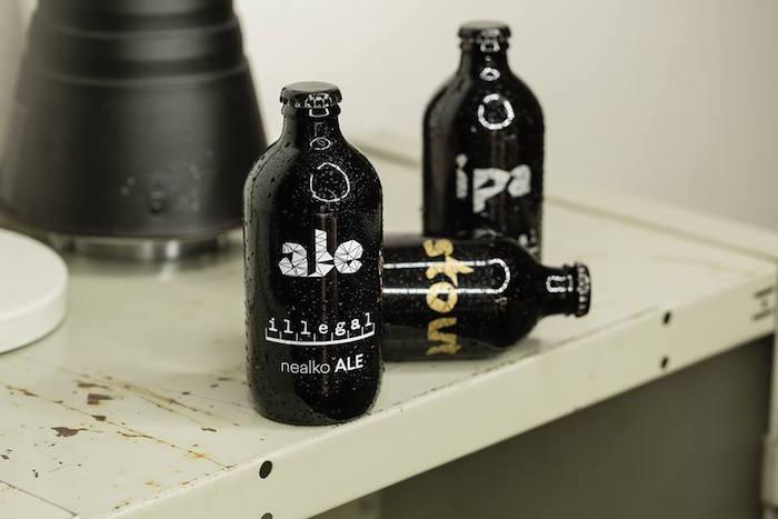 Nealko pivo pod značkou Illegal Brewery, foto:FB Illegal Brewery