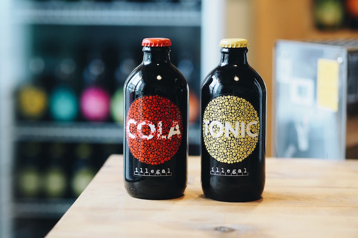 Cola a Tonic od Illegal Brewery, foto: F. H. Prager