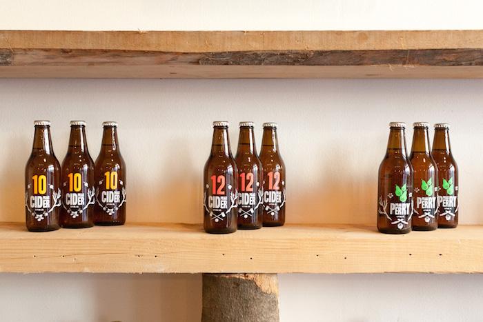 Cider značky Prager, foto: F. H. Prager