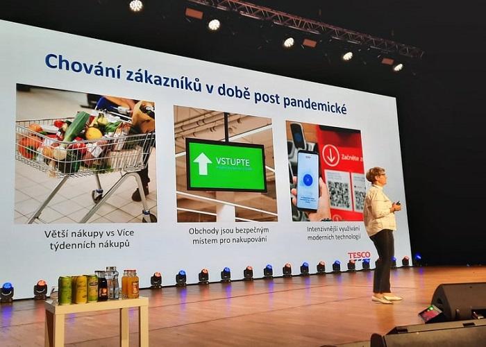 Tesco investovalo během pandemie 400 mil. korun, zdroj: prezentace K. Navrátilové na Retail Summit 2021