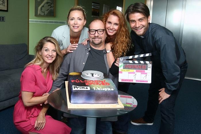 Začátek natáčení seriálu Půlnoční zpověď, zdroj: FTV Prima