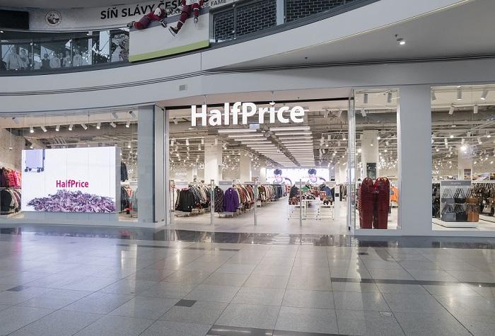 První obchod otevřel HalfPrice v OC Galerie Harfa v Praze, zdroj: HalfPrice
