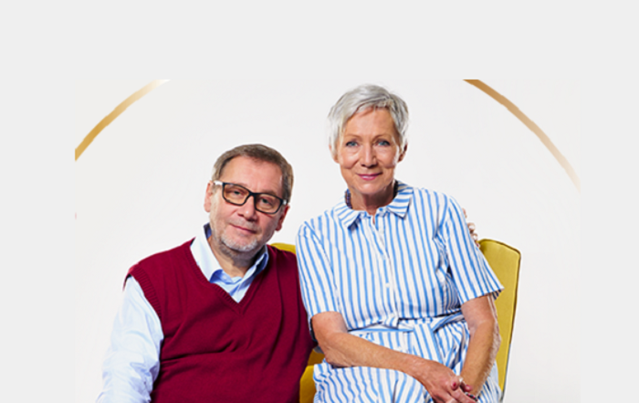 Tvářemi nové stanice ČRo jsou Tomáš Töpfer a Dana Syslová, zdroj: Český rozhlas