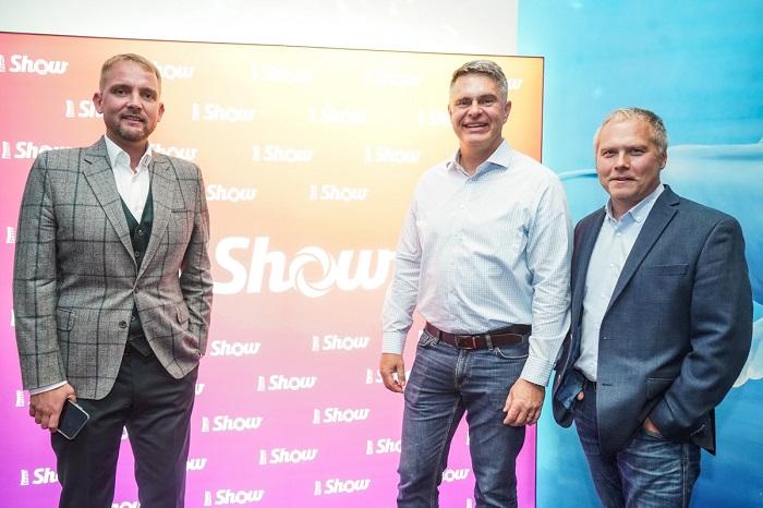 Libor Bouček, Marek Singer a programový ředitel Roman Mrázek