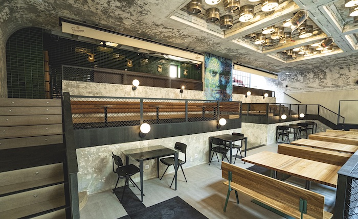 Za architektonickým projektem a návrhem interiérového designu stojí studio Morix Jaromíra a Nadi Pizingerových, zdroj: Pivovary Staropramen.