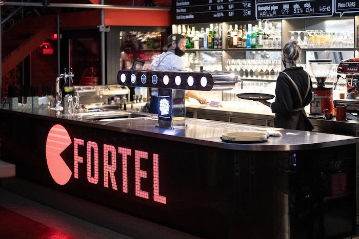 Restaurace Fortel se nachází v bývalém kině Maják v Lidické ulici na pražském Andělu, zdroj: Pivovary Staropramen.