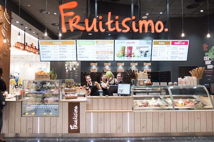 Pobočka fresh baru Fruitisimo, foto: Fruitisimo