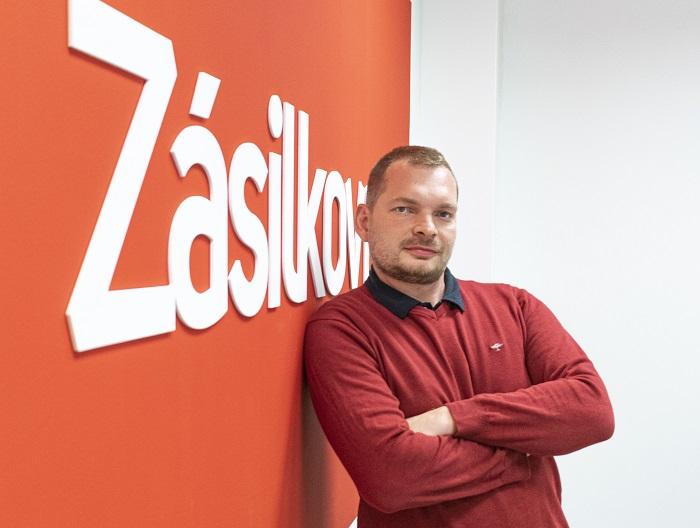 Jan Slezák. zdroj: Packeta