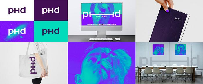 Nová podoba vizuální identity PHD, zdroj: PHD