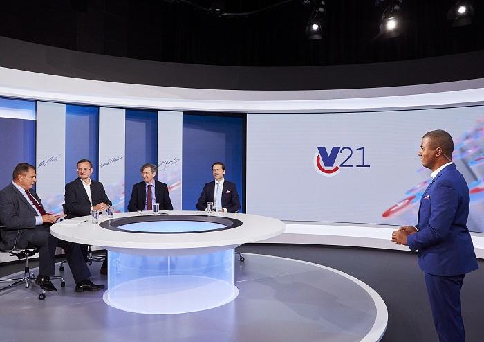 Volební vysílání TV Nova, zdroj: TV Nova