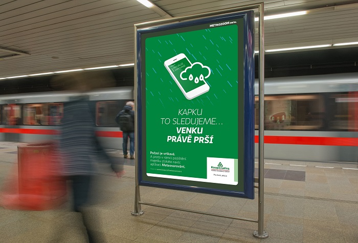 Dynamické CLV v pražském metru, zdroj: Kooperativa, MetroZoom