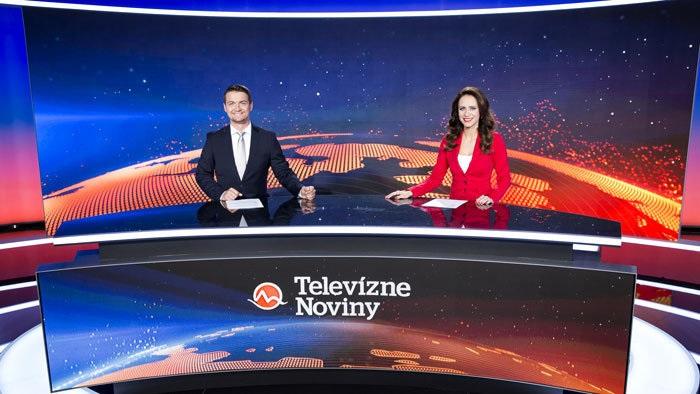 Studio Televizních novin, foto: TV Markíza