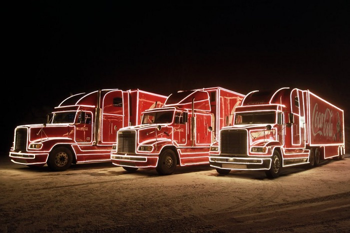 Vánoční kampaň Coca-Coly, foto: Coca-Cola
