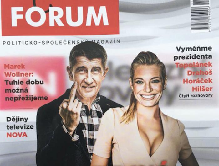 Náhled titulní strany prvního pravidelného vydání Revue Forum, zdroj: Forum24.cz