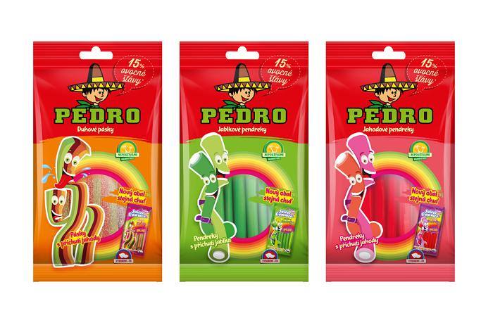 Ovocné pásky a pendreky nově pod značkou Pedro, foto: The Candy Plus Sweet Factory