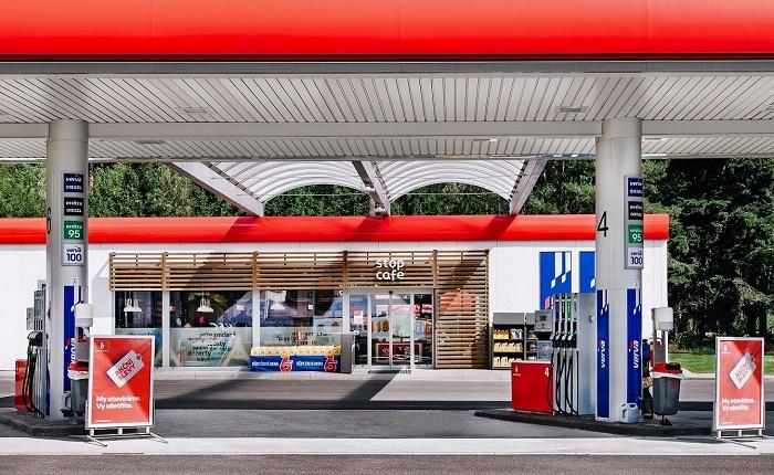 Modernizovaná čerpací stanice Benzina, foto: Benzina