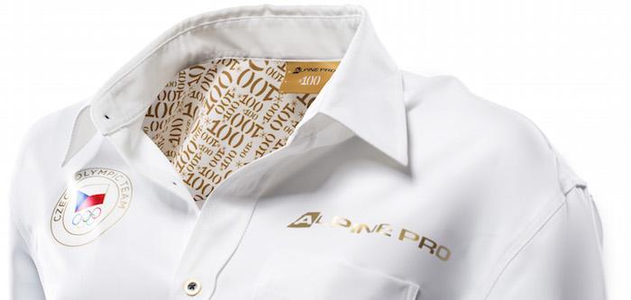 Olympijské triko pracuje s motivem číslice 100