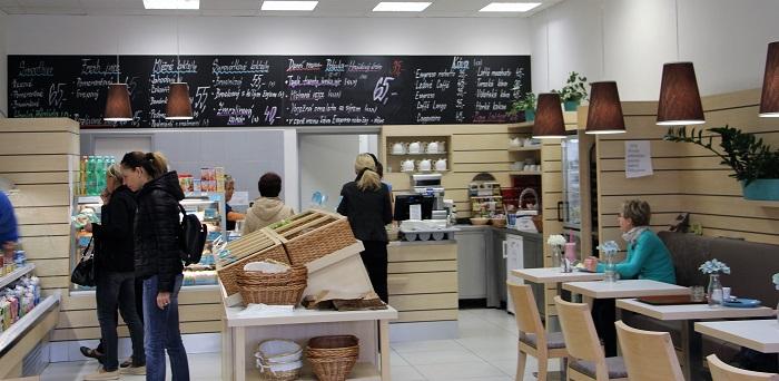 V mléčném baru Madetka lze vybírat z celého sortimentu značky Madeta, foto: Madeta
