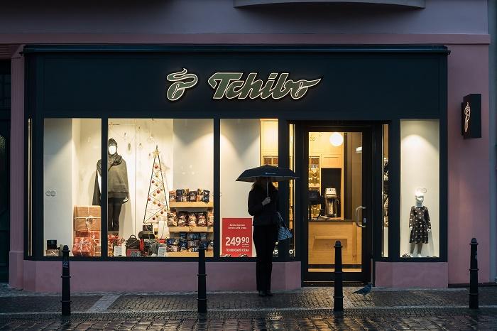 Tchibo otevírá v Praze první prodejnu mimo nákupní centra, foto: Tchibo.