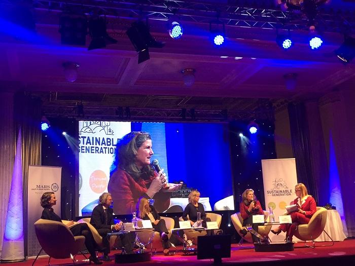 Pamela Mars-Wright na oslavě 25. výročí působení firmy Mars v Česku a na Slovensku, foto: MediaGuru.cz