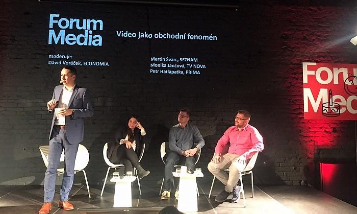 Zleva: David Voráček, Monika Jančová, Martin Švarc a Petr Hatlapatka, foto: MediaGuru.cz