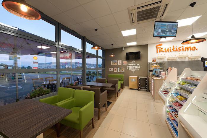 Součástí prodejního formátu je fresh bar Fruitisimo, foto: Shell.