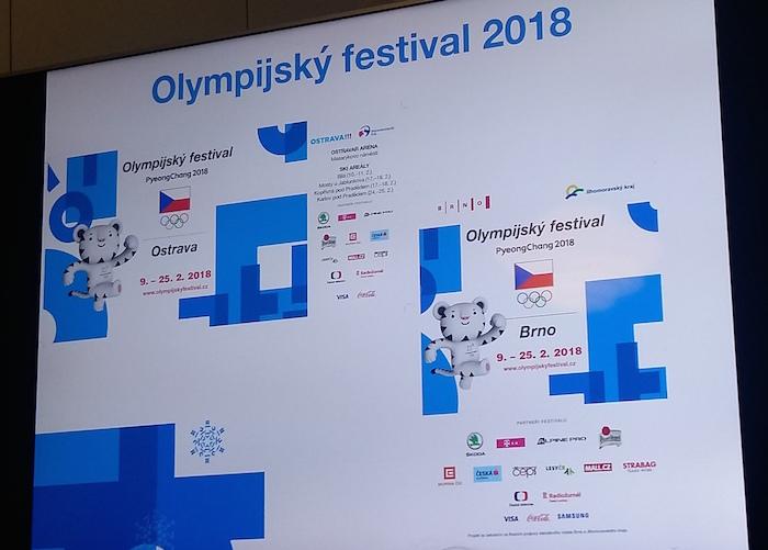 Olympijský festival může využívat i oficiálního maskota, foto: MediaGuru.cz.