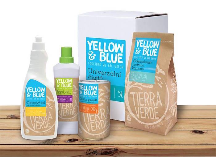 Nové obaly značky Yellow & Blue, foto: Tierra Verde