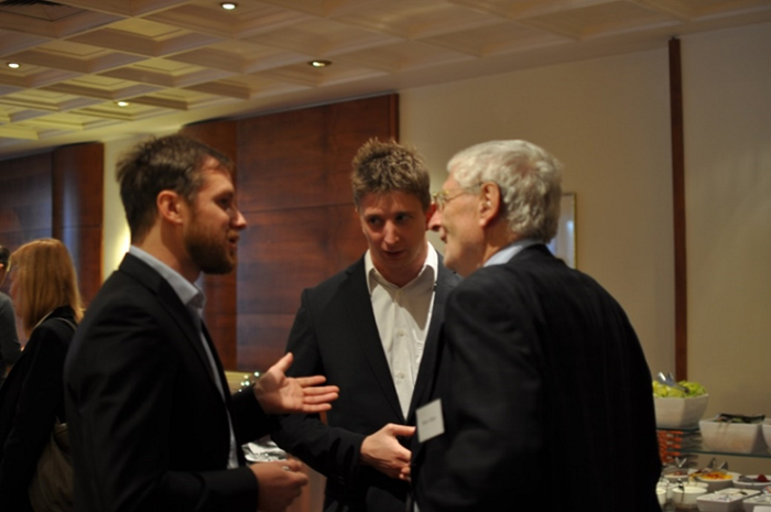 Josef Fišer (vlevo) a Peter Diem (vpravo), foto: Median