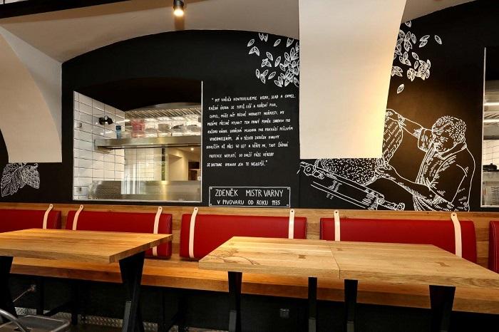 V první Srdcovce Corso v Plzni mají pivovarští i svůj vlastní stůl.