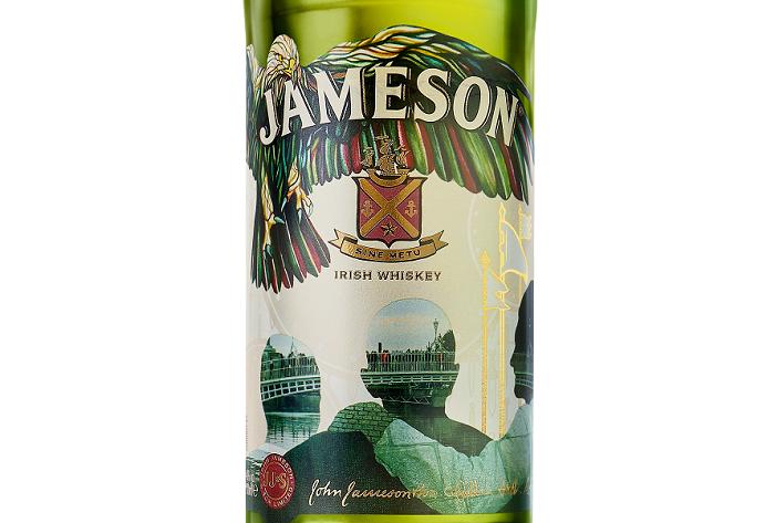 Etiketa pro limitovanou edici irské whiskey Jameson na den sv. Patrika v roce 2018, foto: Jameson