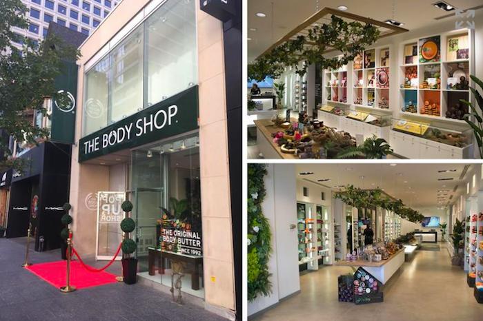 Pop-up store značky The Body Shop v Kanadě, kde je zvláštní důraz kladen na původ produktů, foto: The Body Shop.