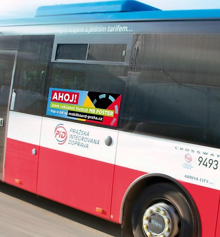 Reklamní formát MB Poster, foto: Mobilboard