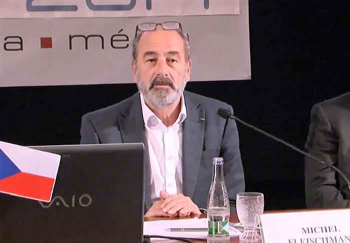 Michel Fleischmann na konferenci Digimedia 2017