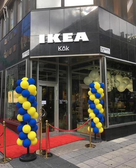 IKEA pop-up studio ve Stockholmu, foto: IKEA