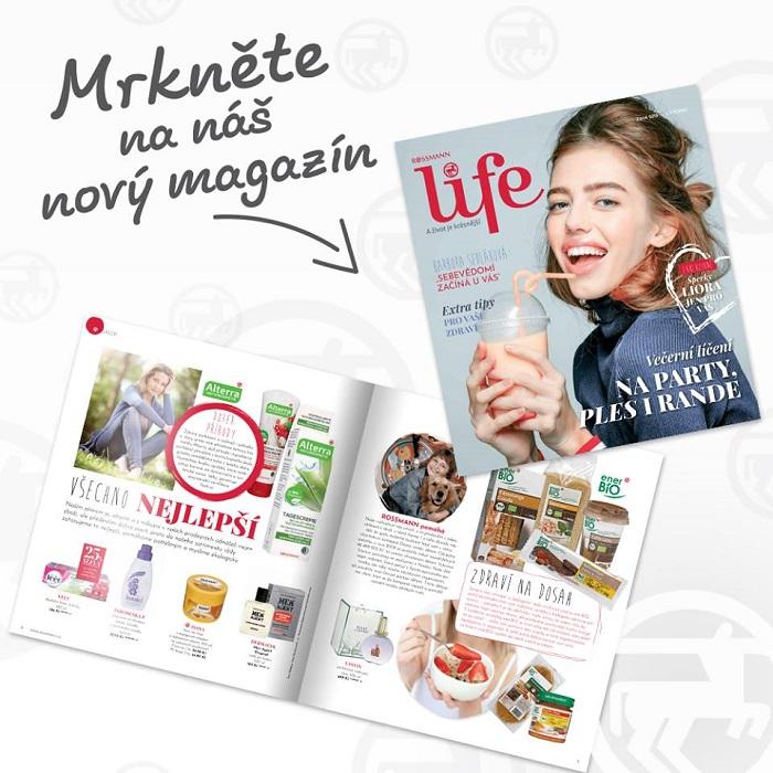 Magazín Rossmann Life