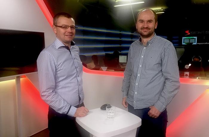 Jakub Unger a Pavel Zima, foto: MediaGuru.cz