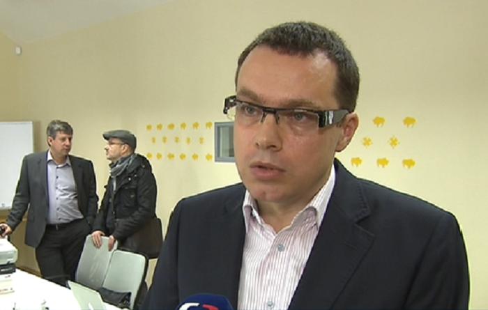 Miloš Růžička (vlevo Vladimír Bystrov), foto: repro vysílání ČT