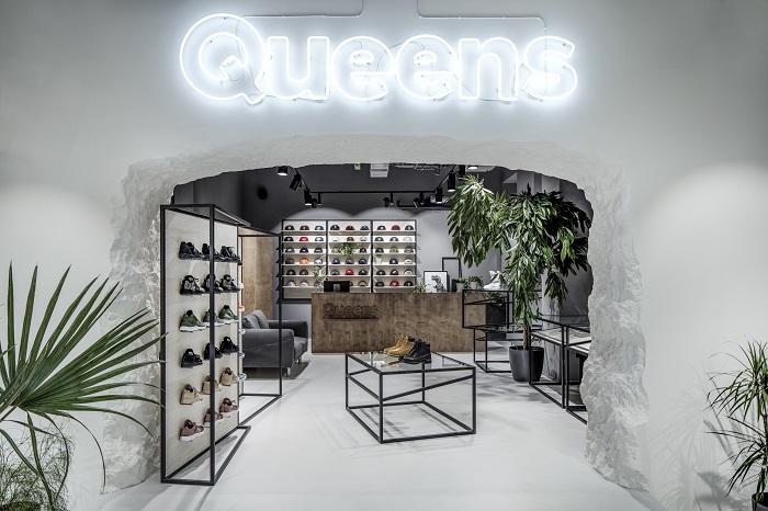 Prodejna Queens v Jindřišské ulici v Praze, foto: Queens