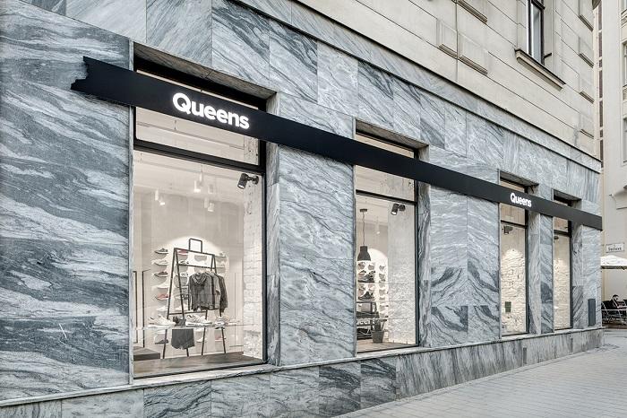 Prodejna Queens v Brně, foto: Queens