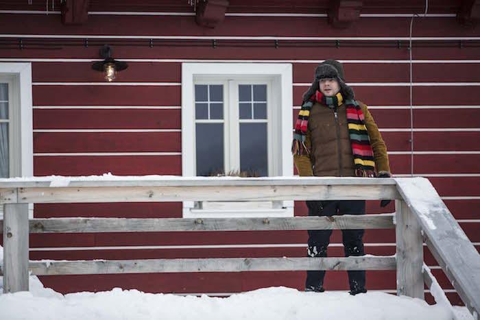 Kryštof Hádek před svým hotýlkem Růženka v kampani T-Mobile, foto: T-Mobile